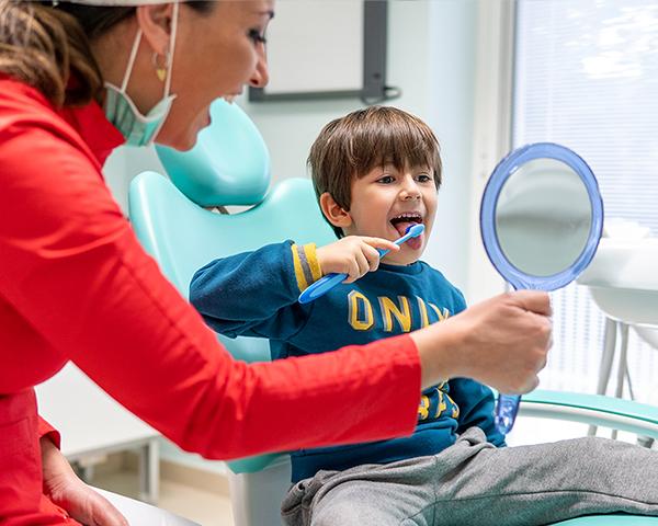 Igiene orale bambini Bari
